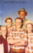 act500243 - Bing Crosby and his Boys Movie Poster Postcard