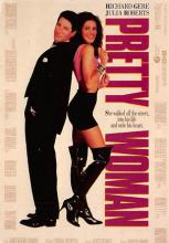 act500283 - Pretty Woman Movie Poster Postcard