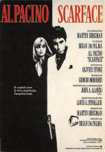 act500293 - Scarface, Al Pacino Movie Poster Postcard