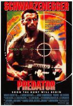 act500295 - Predator, Schwarzenegger Movie Poster Postcard