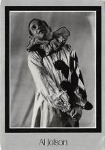 act500297 - Al Jolson Movie Poster Postcard