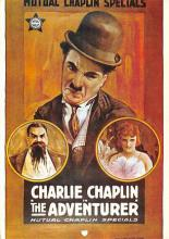 act500341 - Charlie Chaplin, The Adventurer Movie Poster Postcard