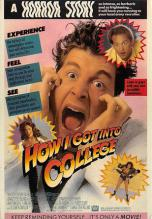 act500367 - How I got into College  Movie Poster Postcard