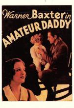 act500371 - Warner Baxter in Amateur Daddy Movie Poster Postcard