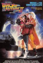 act500395 - Back to the Future II Movie Poster Postcard