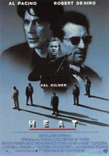 act500423 - Heat, Al Pacino, Robert DeNiro Movie Poster Postcard