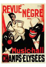 act500445 - Revue Negre au Music Hall, Des Champs Elysees Movie Poster Postcard