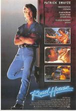 act500455 - Road House, Patrick Swayze Movie Poster Postcard