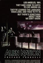 act500457 - Alien Nation Movie Poster Postcard