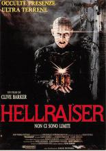 act500469 - Hellraiser Movie Poster Postcard