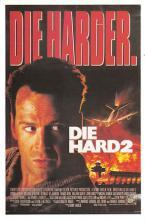 act500481 - Die Harder, Die Hard 2 Movie Poster Postcard