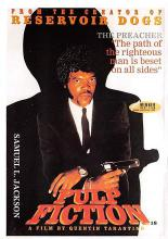 act500491 - Pulp Fiction Movie Poster Postcard