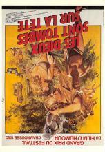act500499 - Les Dieux Sont Tombes Sur la Tete Movie Poster Postcard