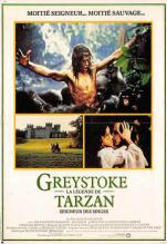 act500509 - Greystoke, Tarzan Movie Poster Postcard