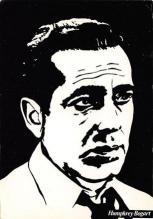 act500517 - Humphrey Bogart Movie Poster Postcard