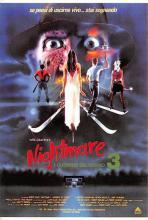 act500527 - Nightmare on Elm Street 3 Movie Poster Postcard