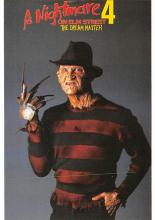 act500531 - Nightmare on Elm Street 4 Movie Poster Postcard