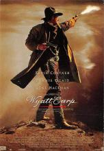 act500543 - Wyatt Earp, Kevin Costner, Gene Hackman Movie Poster Postcard