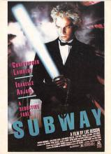 act500569 - Subway Movie Poster Postcard