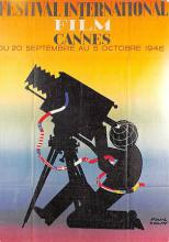 act500573 - Festival International Film Cannes Movie Poster Postcard