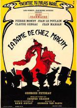 act500575 - Ladame De Chez Maxim Movie Poster Postcard