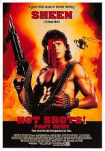 act500577 - Hot Shots, Charlie Sheen Movie Poster Postcard