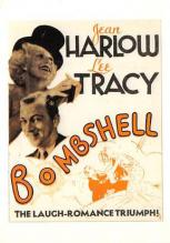 act500605 - Jean Harlow, Lee Tracy, Bombshell Movie Poster Postcard