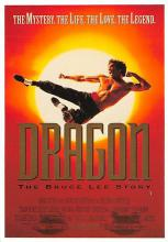 act500607 - Dragon, The Bruce Lee Story Movie Poster Postcard