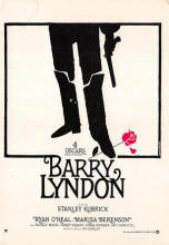 act500615 - Barry Lyndon, Stanley Kubrick Movie Poster Postcard