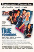 act500617 - True Romance Movie Poster Postcard