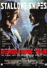 act500631 - Demolition Man Movie Poster Postcard
