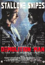 act500639 - Demolition Man Movie Poster Postcard
