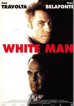 act500653 - White Man, John Travolta, harry Belafonte Movie Poster Postcard