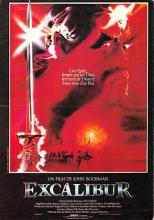 act500685 - Excalibur Movie Poster Postcard