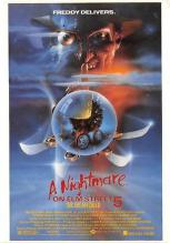 act500709 - A Nightmare on Elm Street 5 Movie Poster Postcard