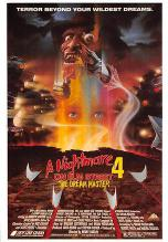 act500713 - A Nightmare on Elm Street 4 Movie Poster Postcard
