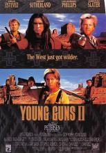 act500717 - Young Guns II Movie Poster Postcard
