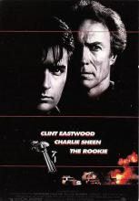 act500721 - The Rookie, Clint Eastwood, Charlie Sheen Movie Poster Postcard