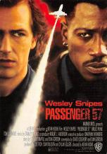 act500727 - Passenger 57, Wesley Snipes Movie Poster Postcard