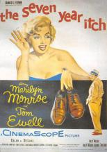 act500751 - Marilyn Monroe Movie Poster Postcard