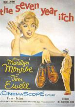act500753 - Marilyn Monroe Movie Poster Postcard