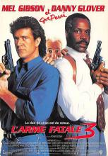 act500761 - Lethal Weapon  Movie Poster Postcard