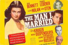 act500793 - The Man I Married Movie Poster Postcard