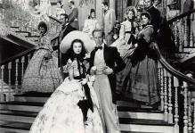 act500809 - Gone With the Wind Movie Poster Postcard