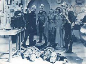 act500815 - Flash Gordon's Trip to mars Movie Poster Postcard