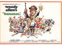 act500837 - Woody Allen's Bananas Movie Poster Postcard