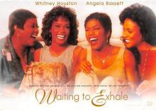 act500845 - Waiting to Exhale, Whitney Houston Movie Poster Postcard