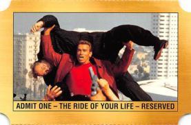 act500863 - Arnold Schwarzenegger Movie Poster Postcard