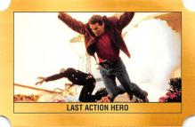 act500865 - Arnold Schwarzenegger Movie Poster Postcard