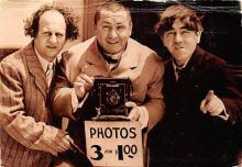 act500869 - Three Stooges Movie Poster Postcard